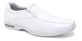 Sapato Social Masculino Em Couro Fork 8919 Branco