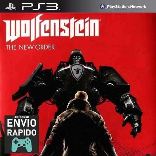 Wolfenstein The New Order - Jogos Ps3 Original