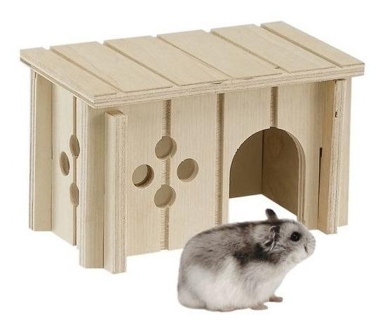 Casa De Madeira Para Ratos Sin 4641 Ferplast