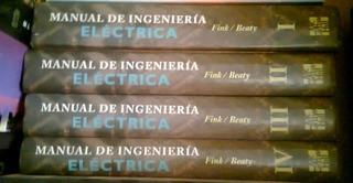 Manuales De Ingeniería Eléctrica 4 Tomos