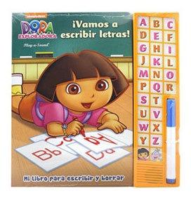 Dora Vamos A Escribir Letras Libro Dial Book 3804