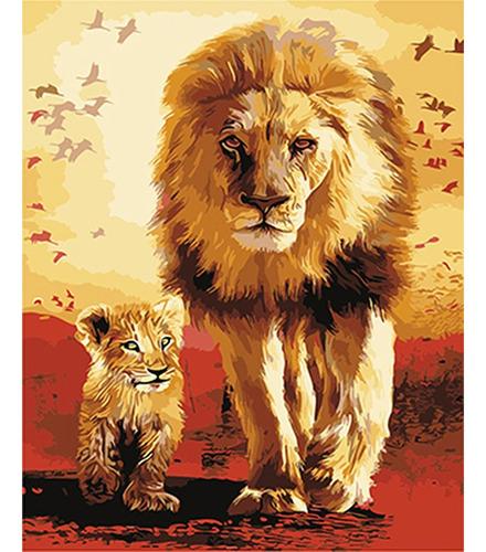 Pintura Numerada Rei Leão_p2