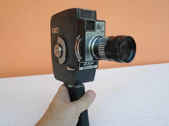 Filmadora Antiga Jj Elcozoom Japan Zoom 8 Se Raridade