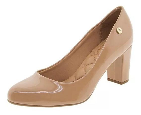 Sapato Feminino Vizzano 1288.100 Verniz Bege