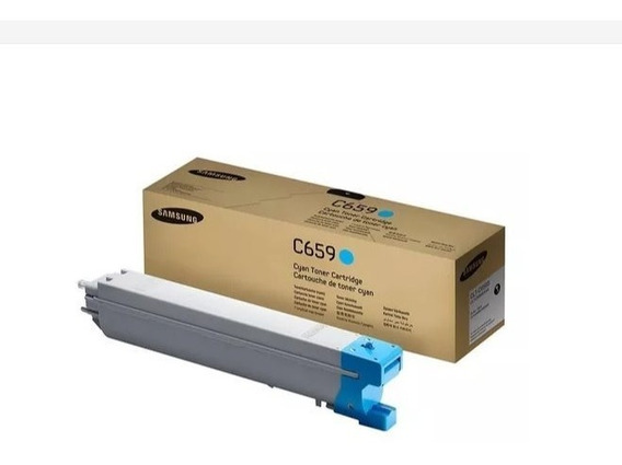 Clt-c659s - Toner Original Samsung - Cyan (azul)