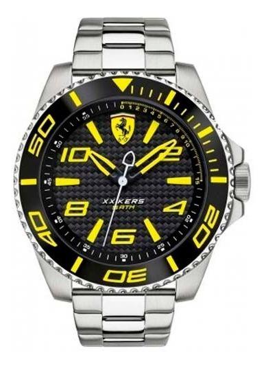 Relógio Scuderia Ferrari Masculino Aço