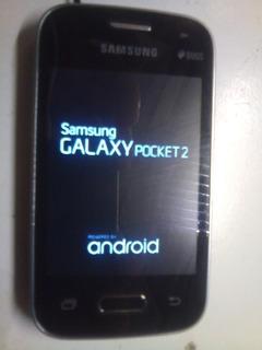 Sansung Galaxy Pocket 2 Duos Perfeito Acessórios + Brinde
