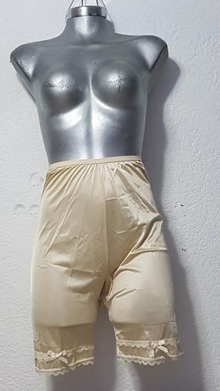Medio Fondo Pantalon 100% Nylon Color Beige Talla M