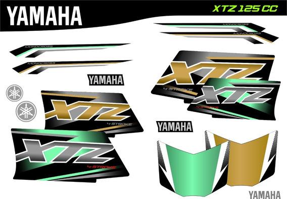 Kit Calco Xtz 125 Verdes