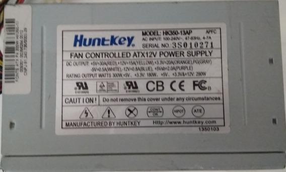 Fonte Atx Huntkey 300w 180w Reais Usado Funcionando