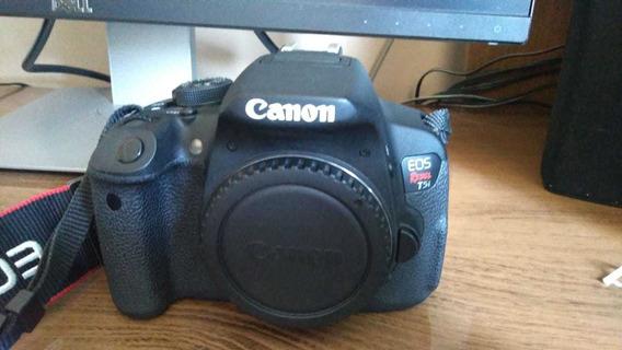 Câmera Canon T5i + 2 Lentes + Flash + Tripé