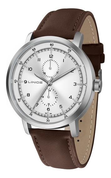 Relógio Lince Masculino Casual Prata Mmc4536l-s1nx