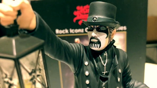 King Diamond Boneco Oficialrock Iconz Mercyful Fate Estatua