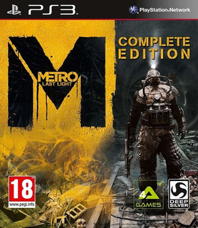 Metro Last Light - Complete Edition (ps3)