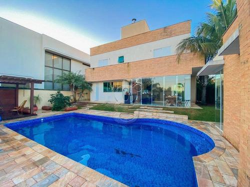 Sobrado Com 4 Dormitórios À Venda, 295 M² Por R$ 2.500.000,00 - Condomínio Royal Tennis Residencial E Resort - Londrina/pr - So0298
