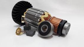 Rotor Lixadeira Sa7021, Rolamento E Par Escova Makita 220v