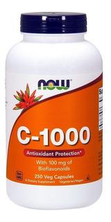Vitamina C-1000 Bioflavonoids, 250 Cáps - Importada E U A