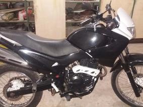 Moto Honda Nx-4 Falcon Preta 400cc