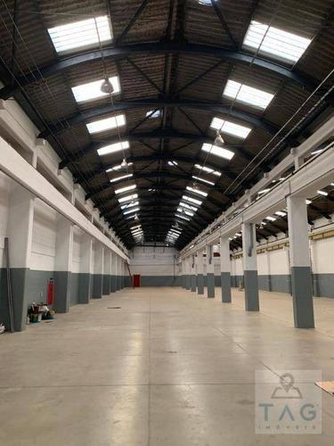 Imagem 1 de 15 de Barracão Para Alugar, 1850 M² Por R$ 44.999,99/mês - Vila Leopoldina - São Paulo/sp - Ba0031