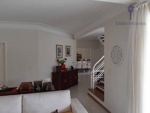 Casa/sobrado 4 Dormitórios À Venda Ou Locação, 510m², Residencial Tivoli Park, Pq. Campolim Em Sorocaba/sp - So0451
