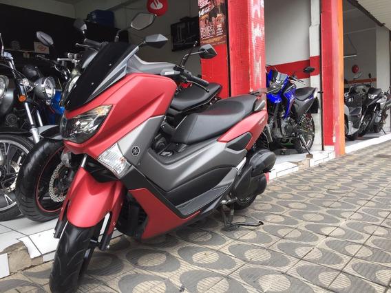 Yamaha N-max 160 Abs Ano 2018 Vermelha