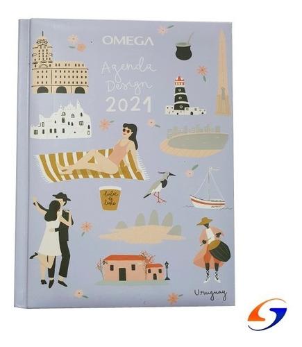 Agenda Omega Semanal Diseño Serviciopapelero