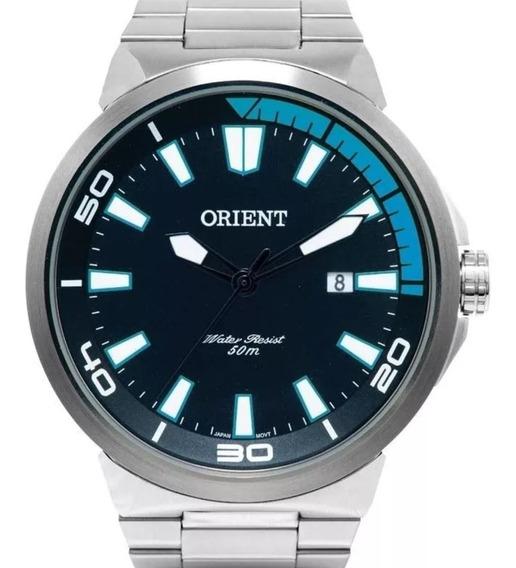 Relógio Masculino Orient Mbss1196a Pasx Original + Estojo