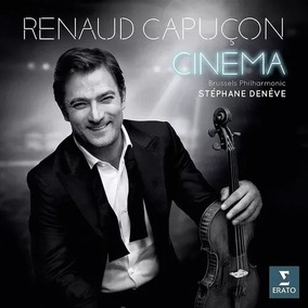 Cd Renaud Capuçon - Cinema (2018) Original / Lacrado