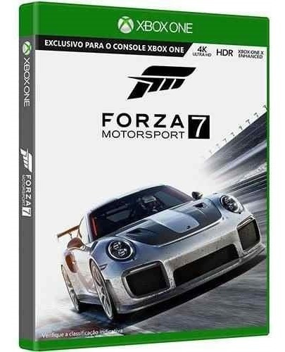 Forza Motorsport 7 Xbox One Mídia Física Pronta Entrega