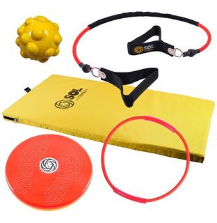 Sol Fitness Combo Yellow Colchoneta Banda Elástica Twister