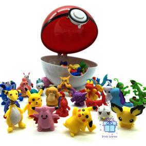 Pokebola 2-3cm 24 Miniatura Pokemons Pikachu S/repetir S161