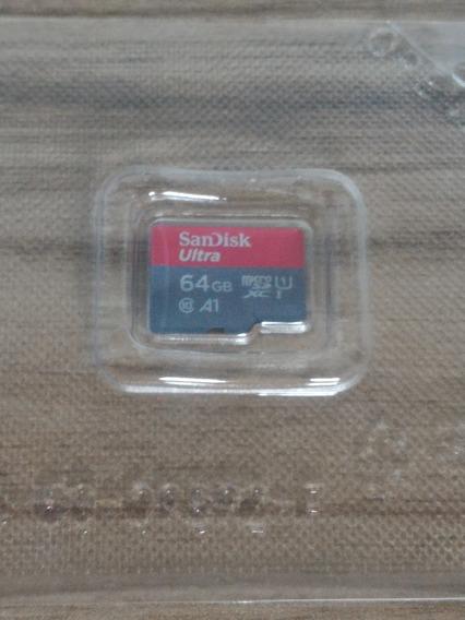 Cartão De Memória Sandisk Ultra 64gb Sdxc 80mb/s