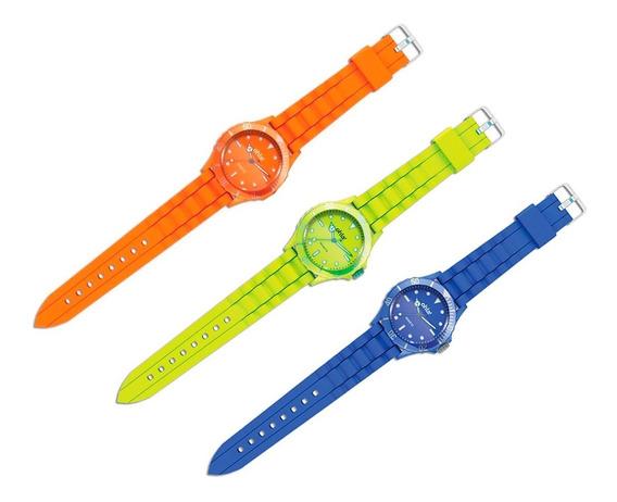 Clarín Relojes Coloridos Set 3 De 3 Relojes