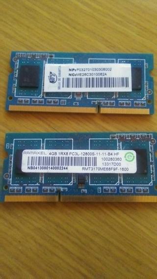 Memoria Ram Ddr3 1rx8 12800s