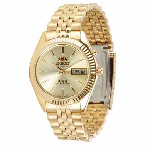 Relógio Orient Automático 469ec7 B1kx Dourado Original