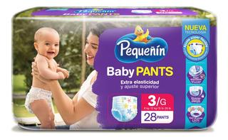 Pañal Pequeñin Baby Pants Etapa 3 X 28und