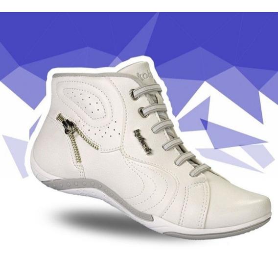 Tênis Feminino Kolosh Branco/ Tênis Feminino Moleca Slip On