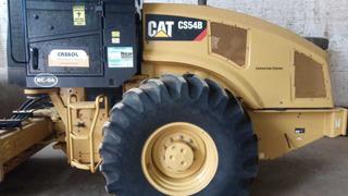 Rolo Compactador Caterpillar Cs 54 B