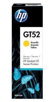 Garrafa De Tinta Hp Gt52 Amarelo M0h56al