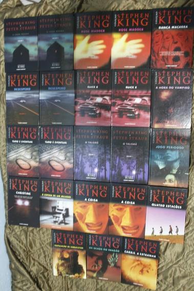Coleção Stephen King 23 Livros/ Planeta Deagostini