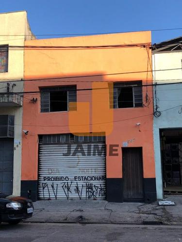 Galpão Para Venda No Bairro Canindé Em São Paulo - Cod: Ja13357 - Ja13357