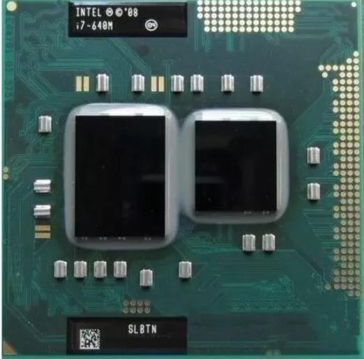 Intel Core I7 640m 2.8ghz Primeira Geração Para Notebook