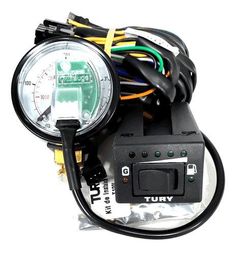 Imagem 1 de 6 de Tury T1000 Chave Comutadora P/ Gás Natural Veicular Gnv