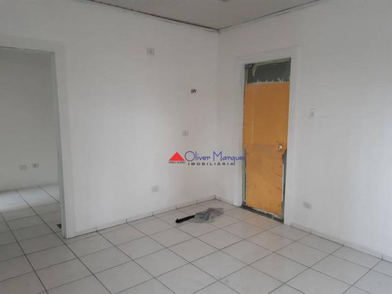Sala Para Alugar, 75 M² Por R$ 1.800,00/ano - Centro - Osasco/sp - Sa0281