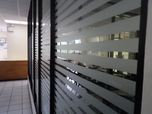 Imagen 1 de 6 de Film Vinilo Esmerilado Con Diseño Protección Privacidad 1m
