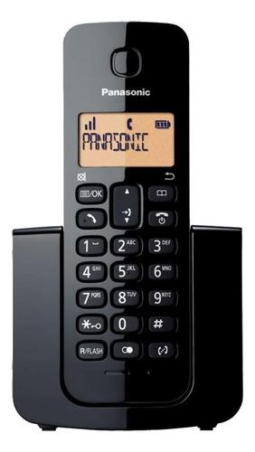 Imagen 1 de 3 de Teléfono inalámbrico Panasonic KX-TGB113 negro