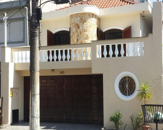 Lindo Sobrado Para Venda/locação Com 3 Dormitórios Sendo 2 Suítes Na Vila Prudente - Ca00331