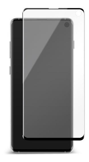 Vidrio Templado Hybrid Curved Pet Black Frame Samsung S10