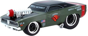 Dodge Charger 69 Hot Rod War 1:24 Muscle Machines Racing Gp