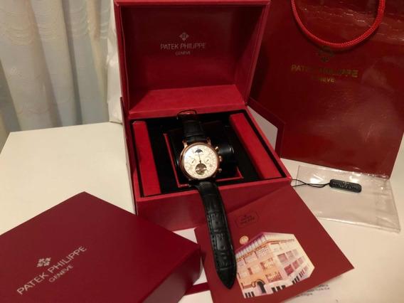 Reloj Patek Philippe Geneve Mujer/varón Correa Cuero
